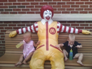 First stay at the Ronald McDonald House - Philadelphia